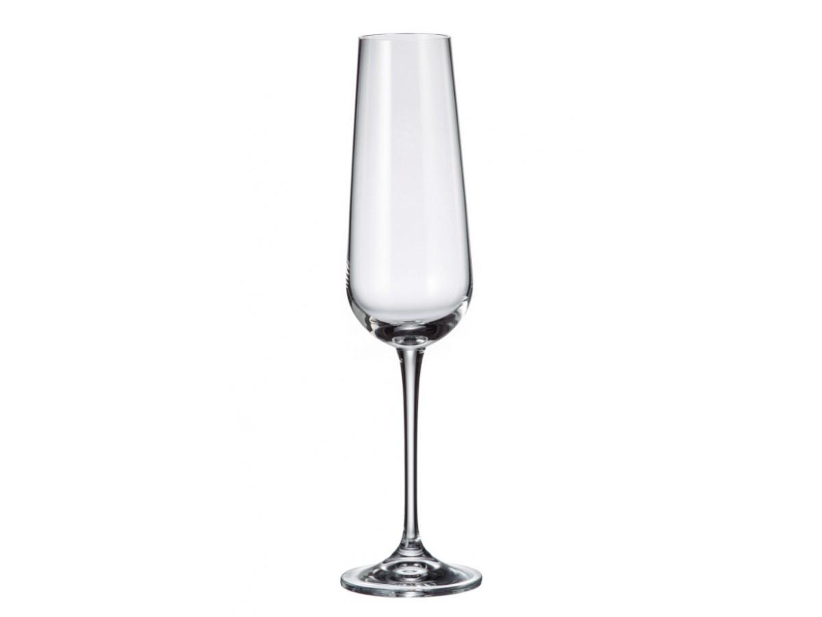 Bohemia Amundsen Набор бокалов для шампанского 6*220 мл