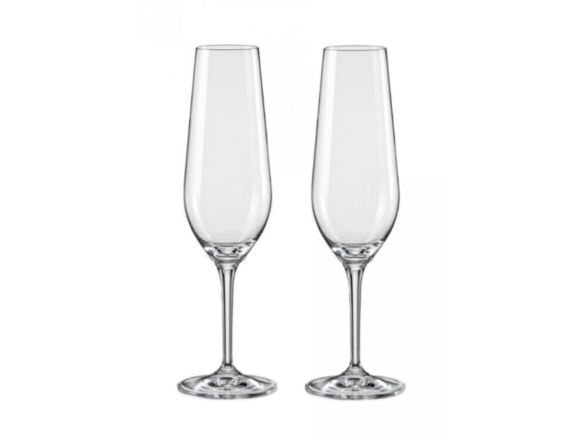 Bohemia Amoroso Набор бокалов для шампанского 2*200 мл (40651)