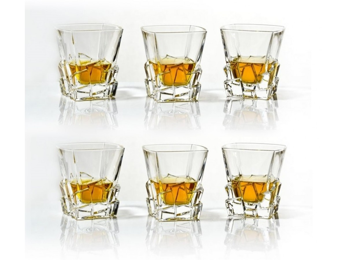 Bohemia Crack Набор стаканов 6*310 мл (29J38 93K79 310)