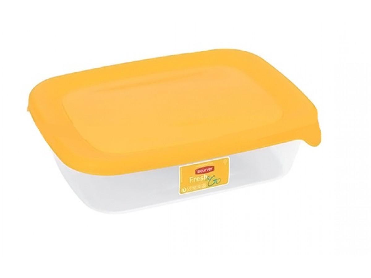 Curver Fresh&Go Емкость для морозилки 500 мл желтая (0553)