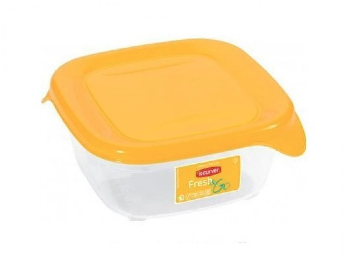 Curver Fresh&Go Емкость для морозилки 800 мл желтая (0559)