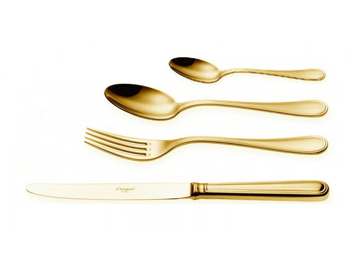 Cutipol Sevigne Gold Набор столовых приборов 24 предмета (P3.03 G)