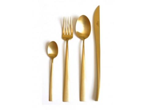 Cutipol Duna Gold Набор столовых приборов 24 предмета (DU.05 G)