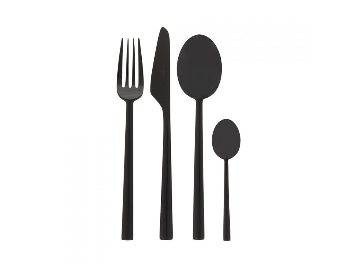 Cutipol Rondo Black Набор столовых приборов 24 предмета