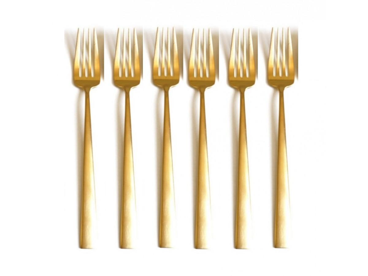 Cutipol Duna Gold Набор вилок столовых 6 шт