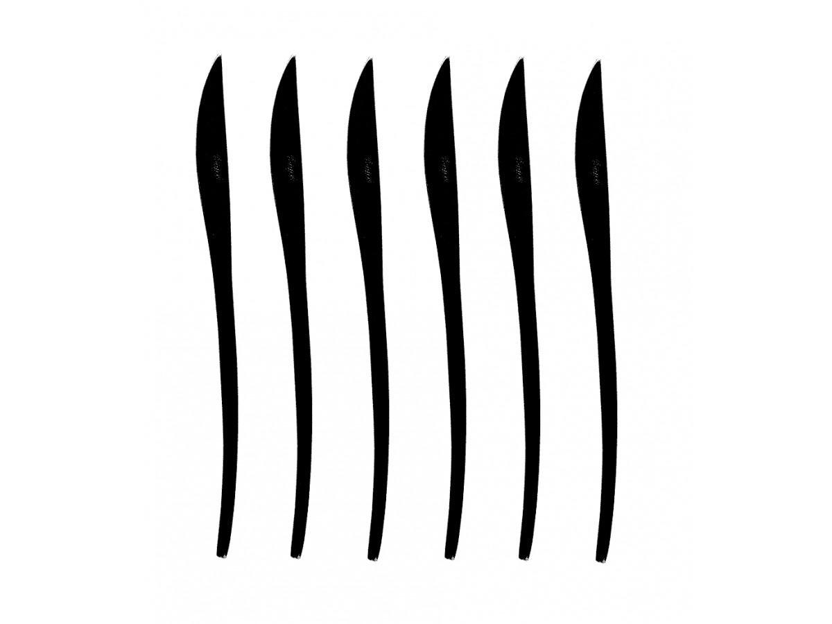 Cutipol Duna Black Набор ножей столовых 6 шт (DU.03 BL)