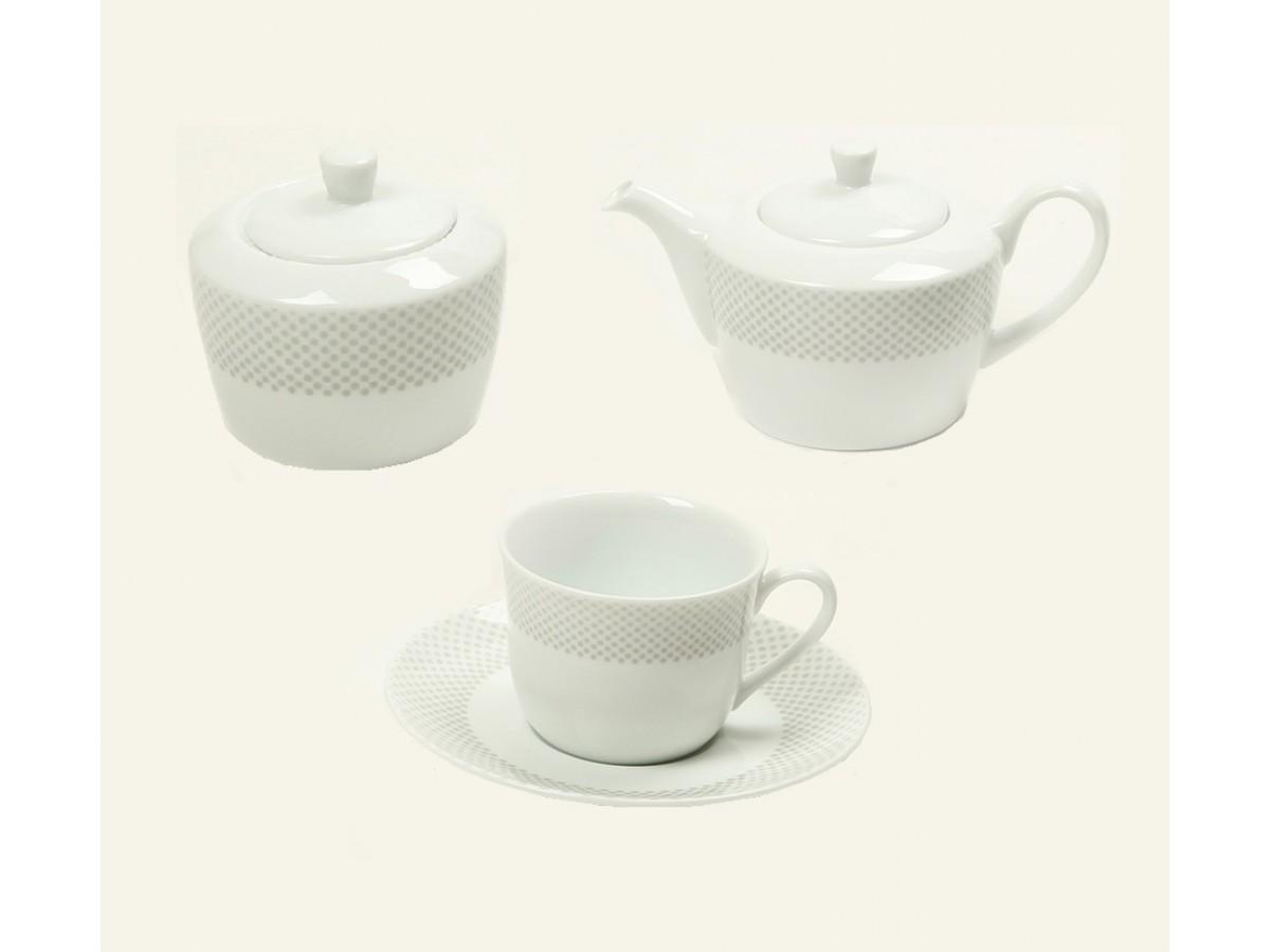 DPL Sheided Grey Poise Набор чайный на 6 персон