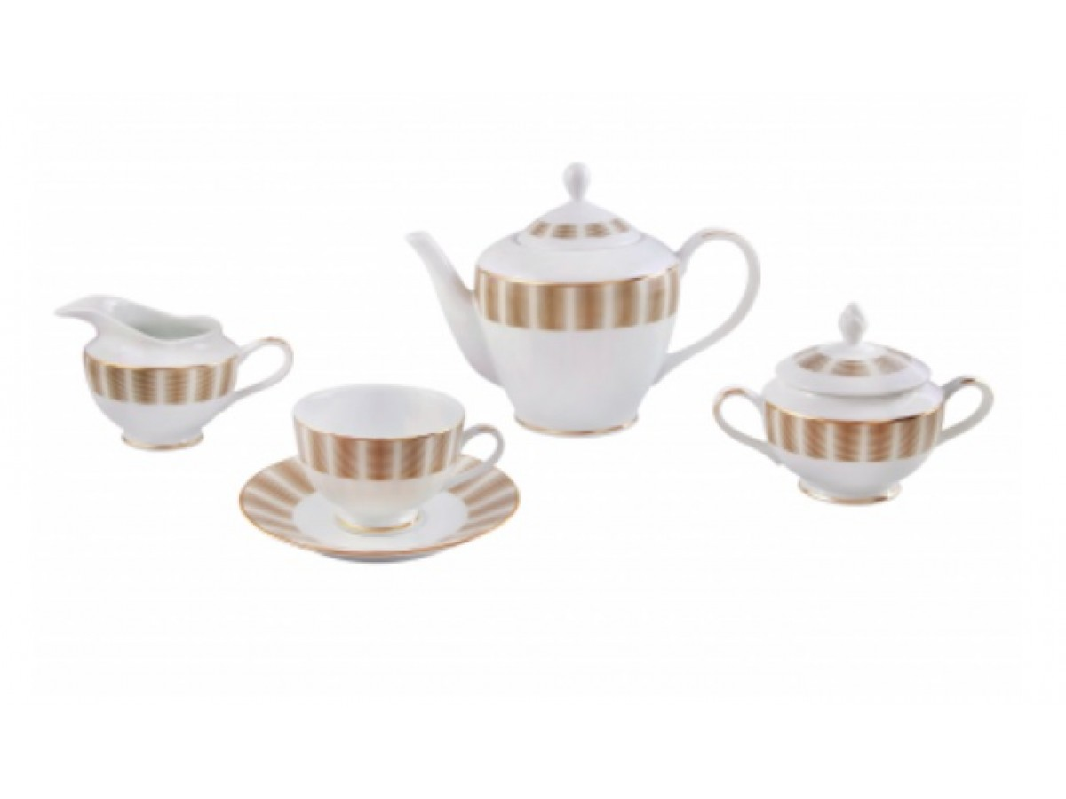 DPL Karina Brown Набор чайный на 6 персон