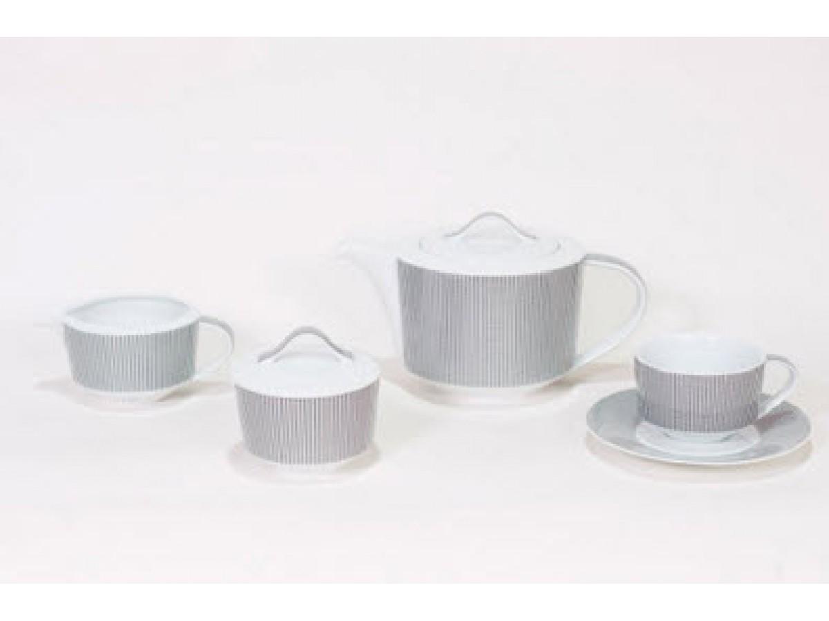 DPL Smart Набор чайный на 6 персон (17пр.)