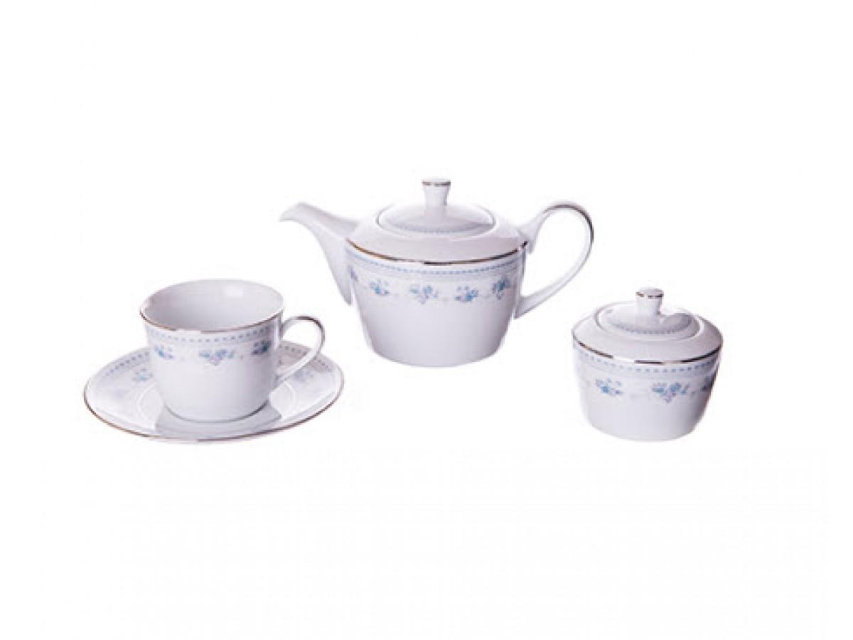 DPL Blue Dawn Набор чайный на 6 персон (16пр.)