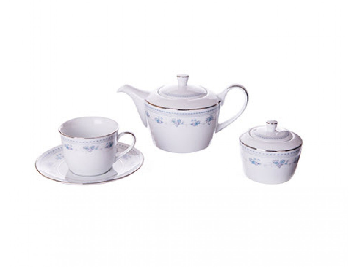 DPL Blue Dawn Набор чайный на 6 персон