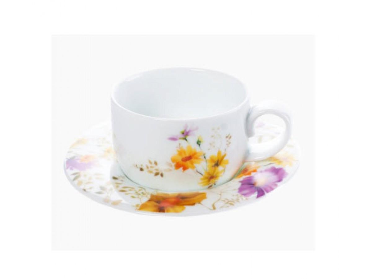 DPL Kosmeya Чашка чайная с блюдцем 200 мл