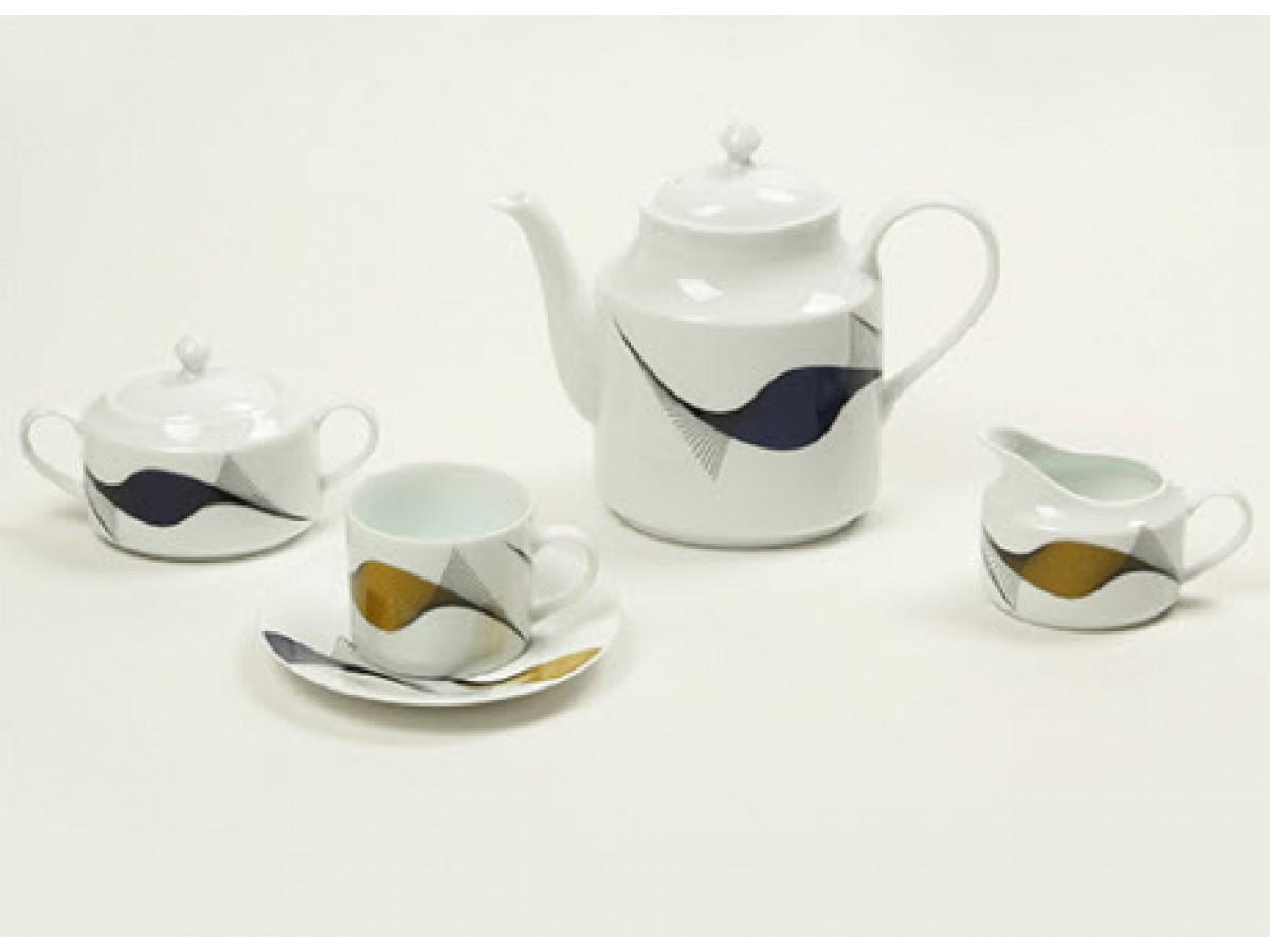 DPL Wind Pattern Набор чайный на 6 персон (17пр.)