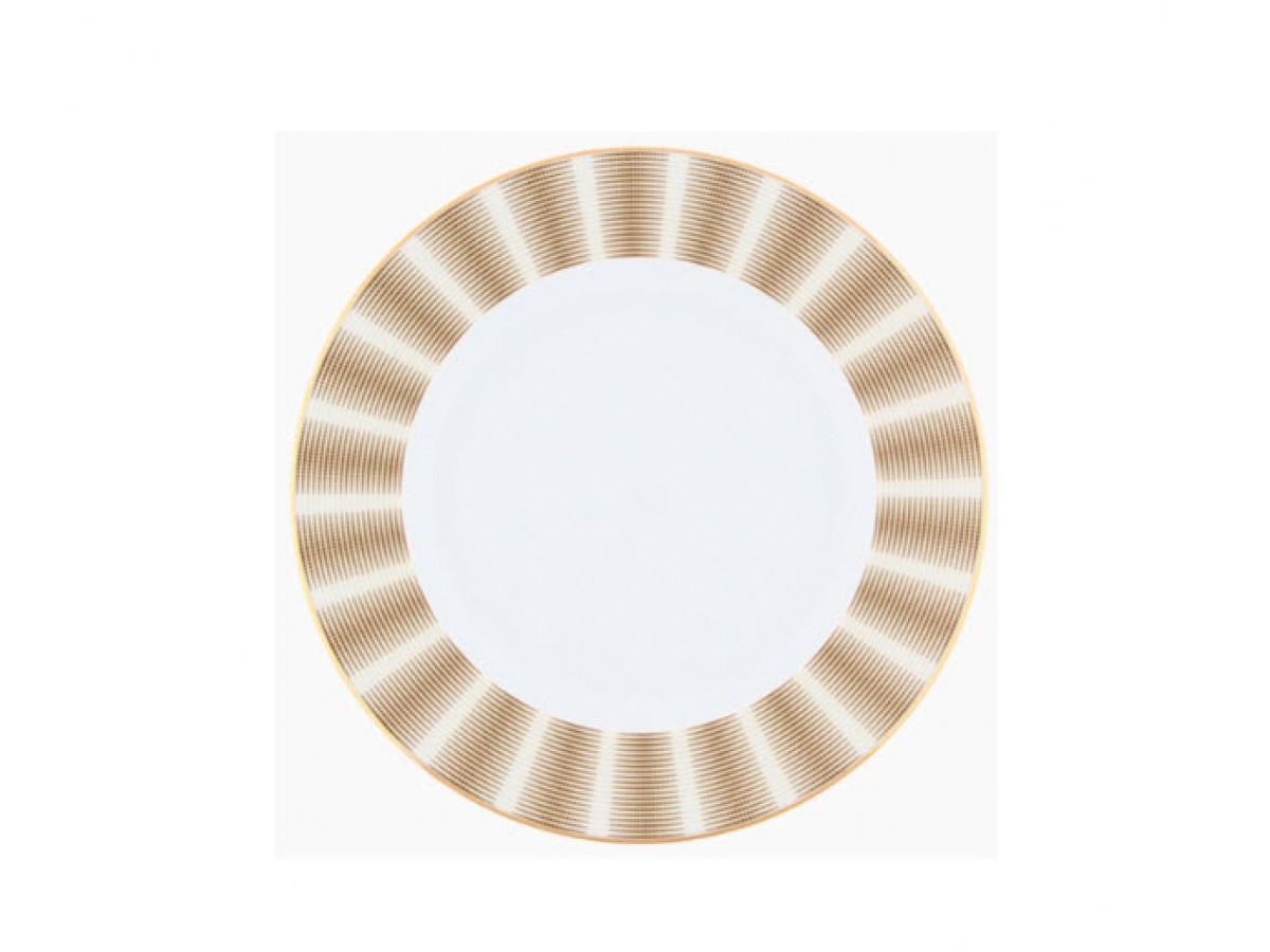 DPL Karina Brown Набор тарелок салатных 213 мм