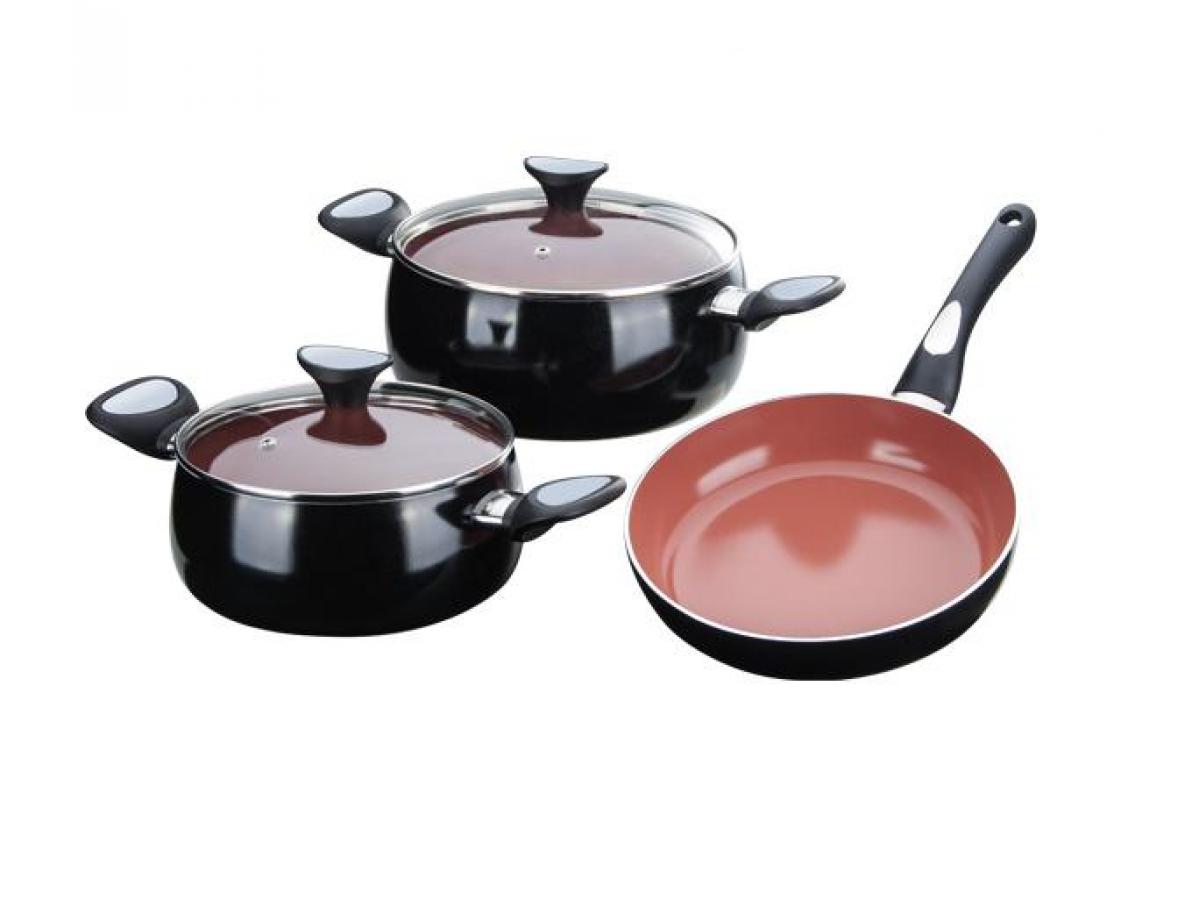 Granchio Terracotta Набор посуды 5 предметов