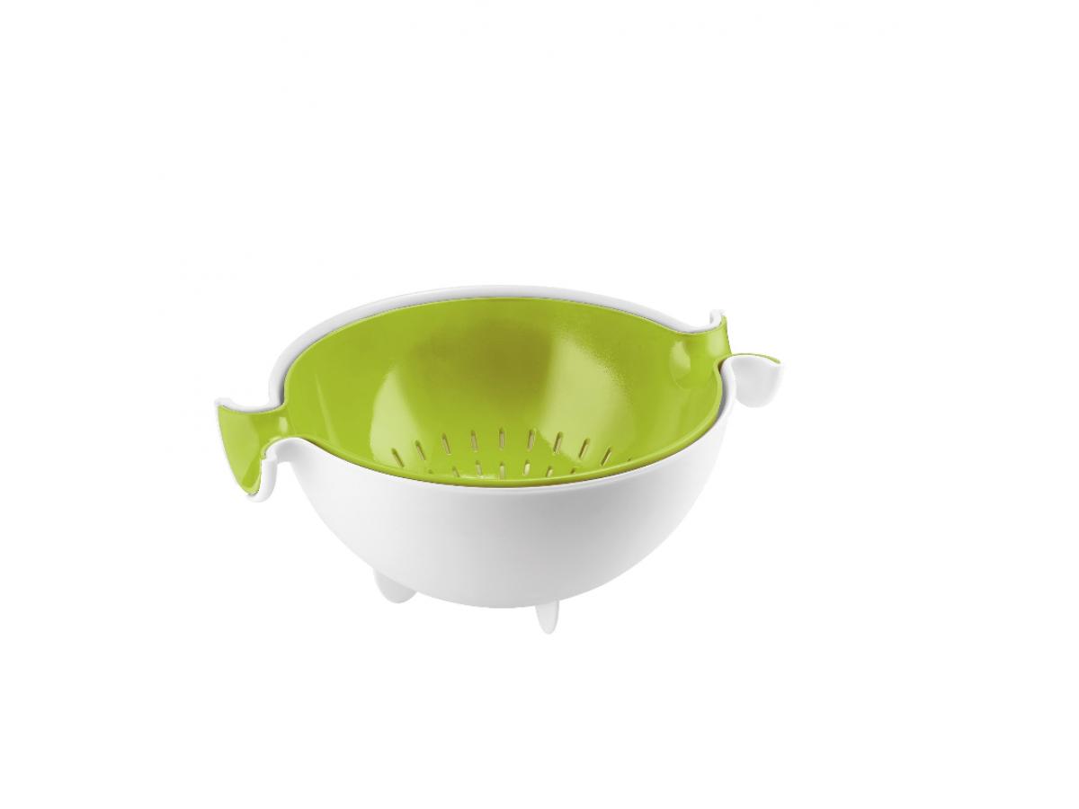 Guzzini Kitchen Набор салатник и коландер