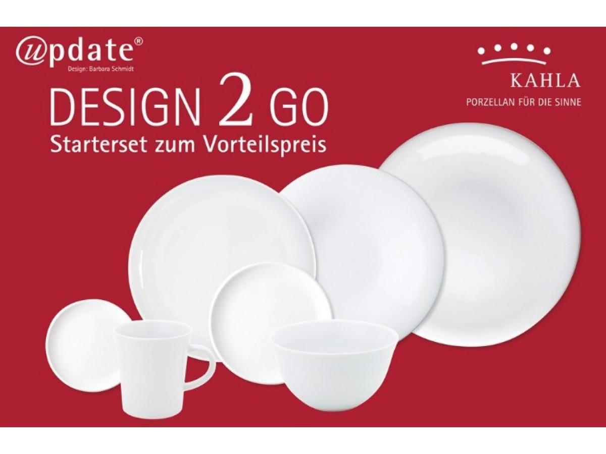 Kahla Update Design 2 Go Сервиз столовый для 2 персон 14 предметов