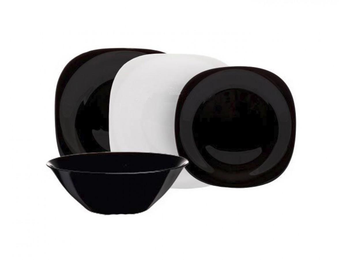 Luminarc Carine Black&White Столовый сервиз на 19 предметов (N1491)