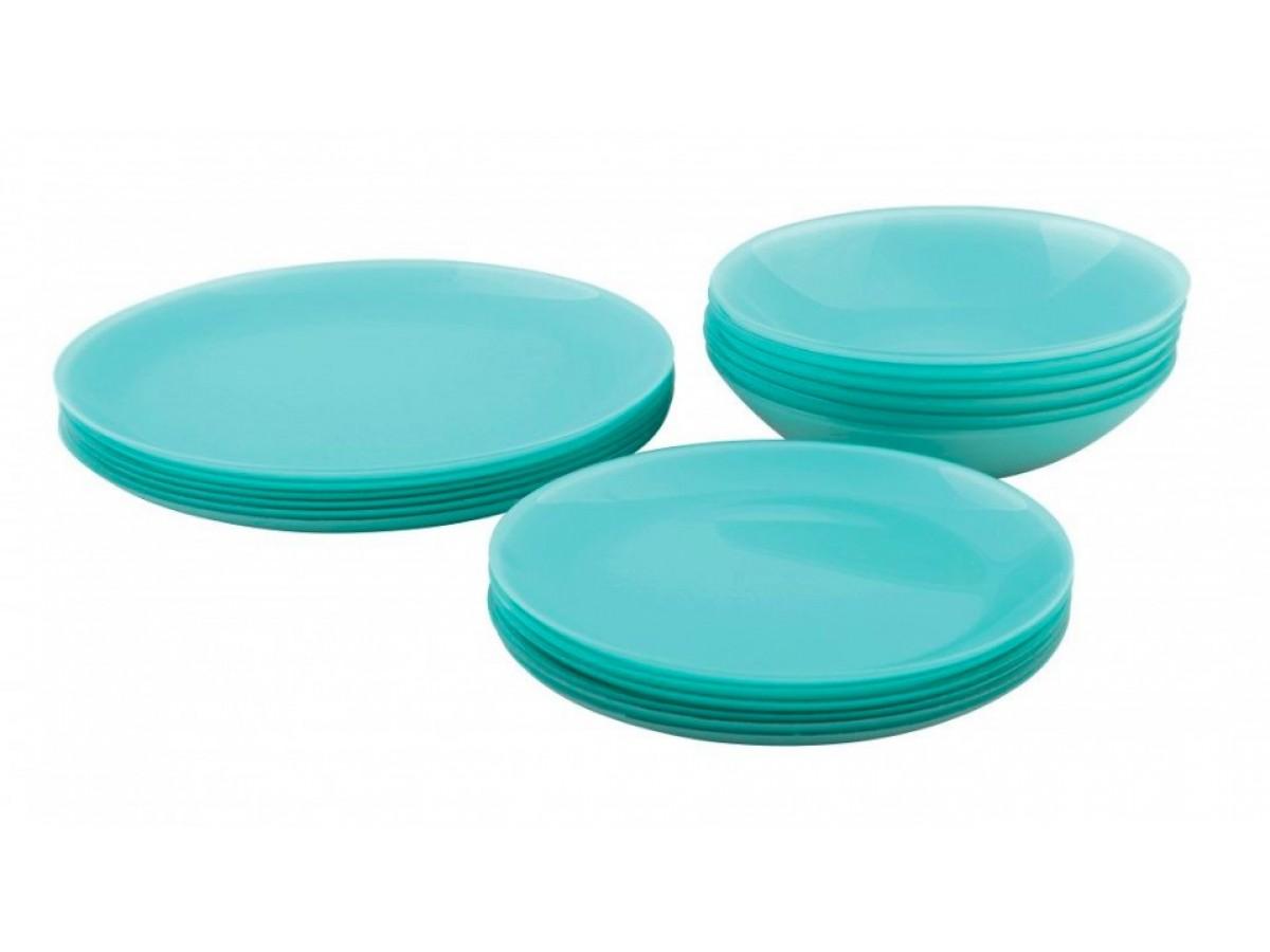 Luminarc Arty Soft Blue Сервиз столовый 18 предметов