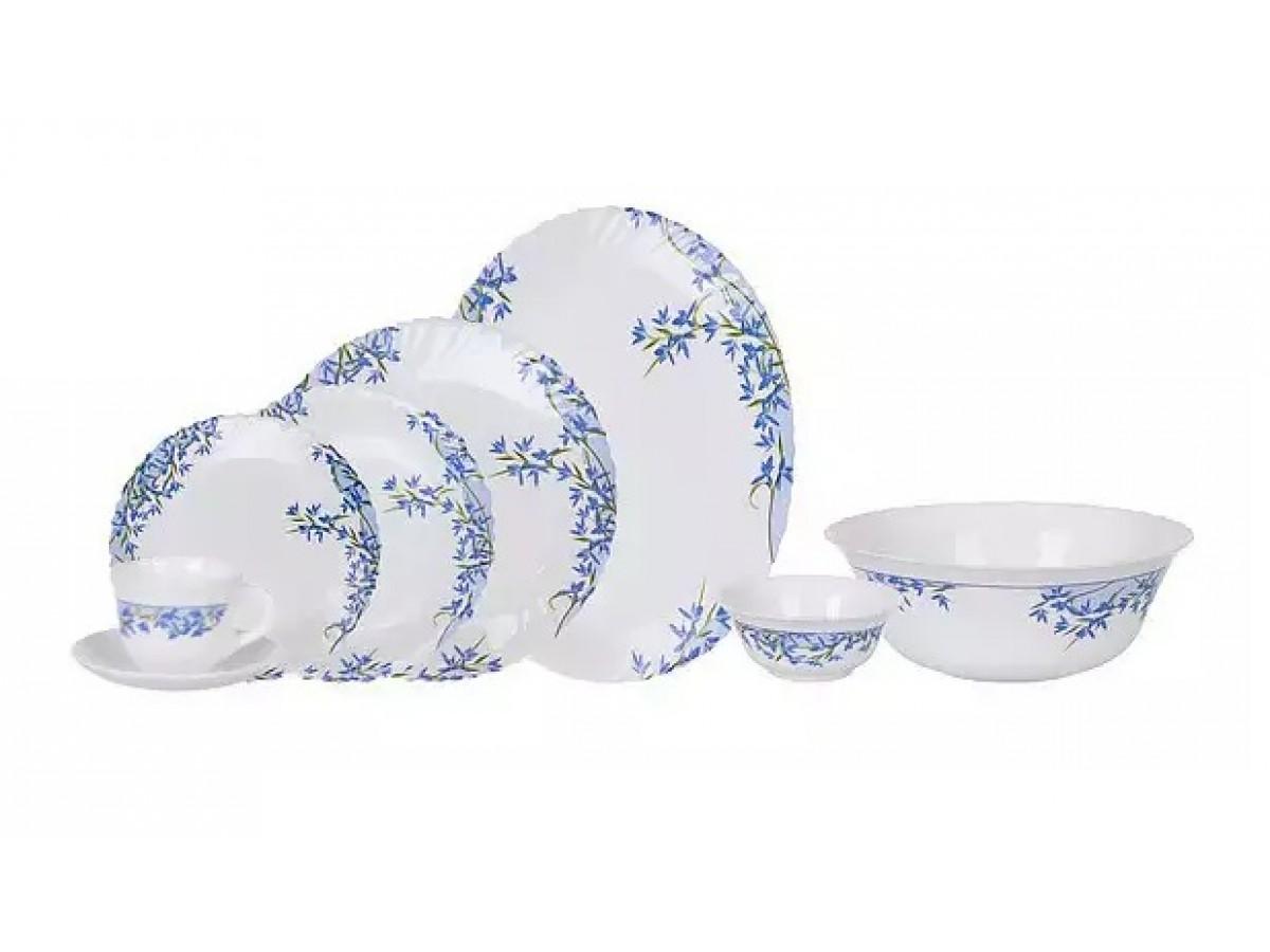 Arcopal ALIYA BLUE Сервиз столовый 38 предметов