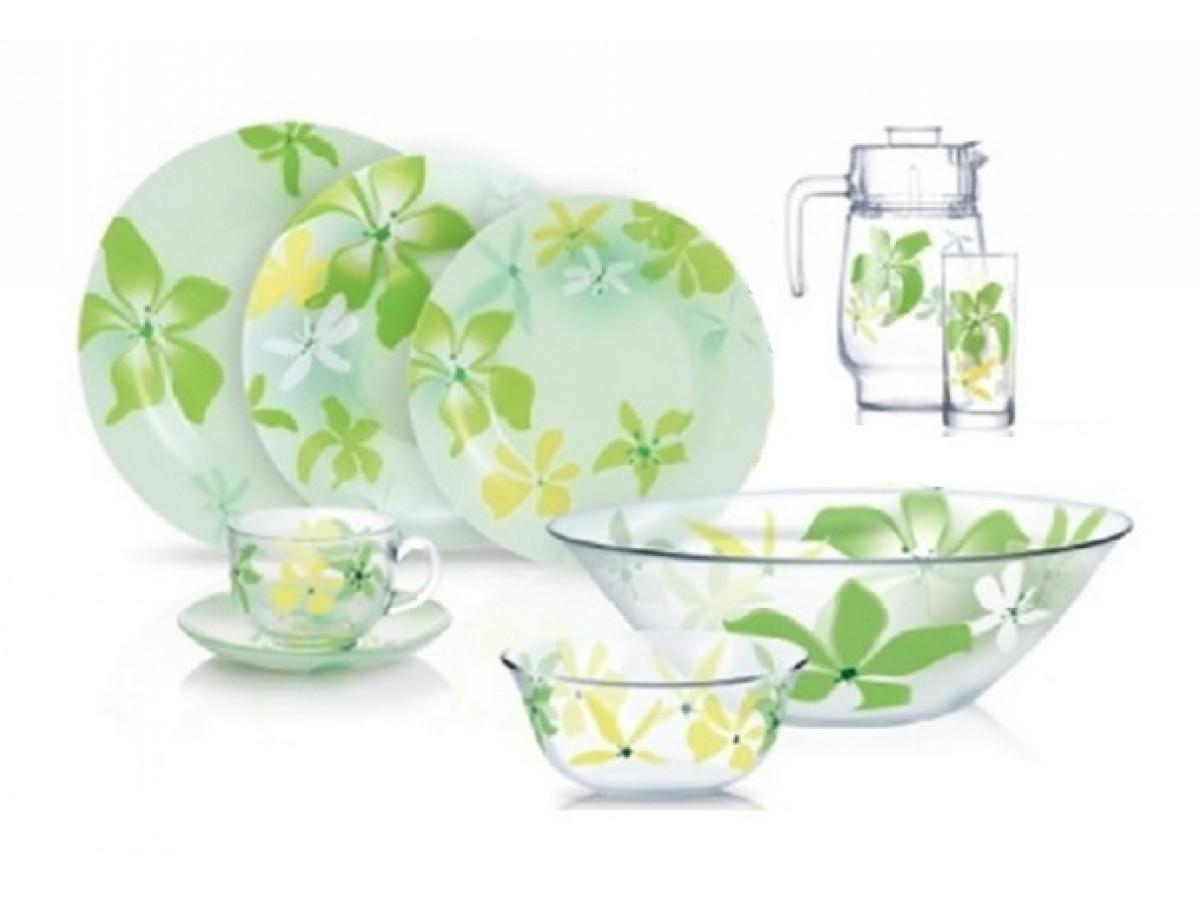 Luminarc Green Ode Сервиз столовый 46 предметов (N6728)