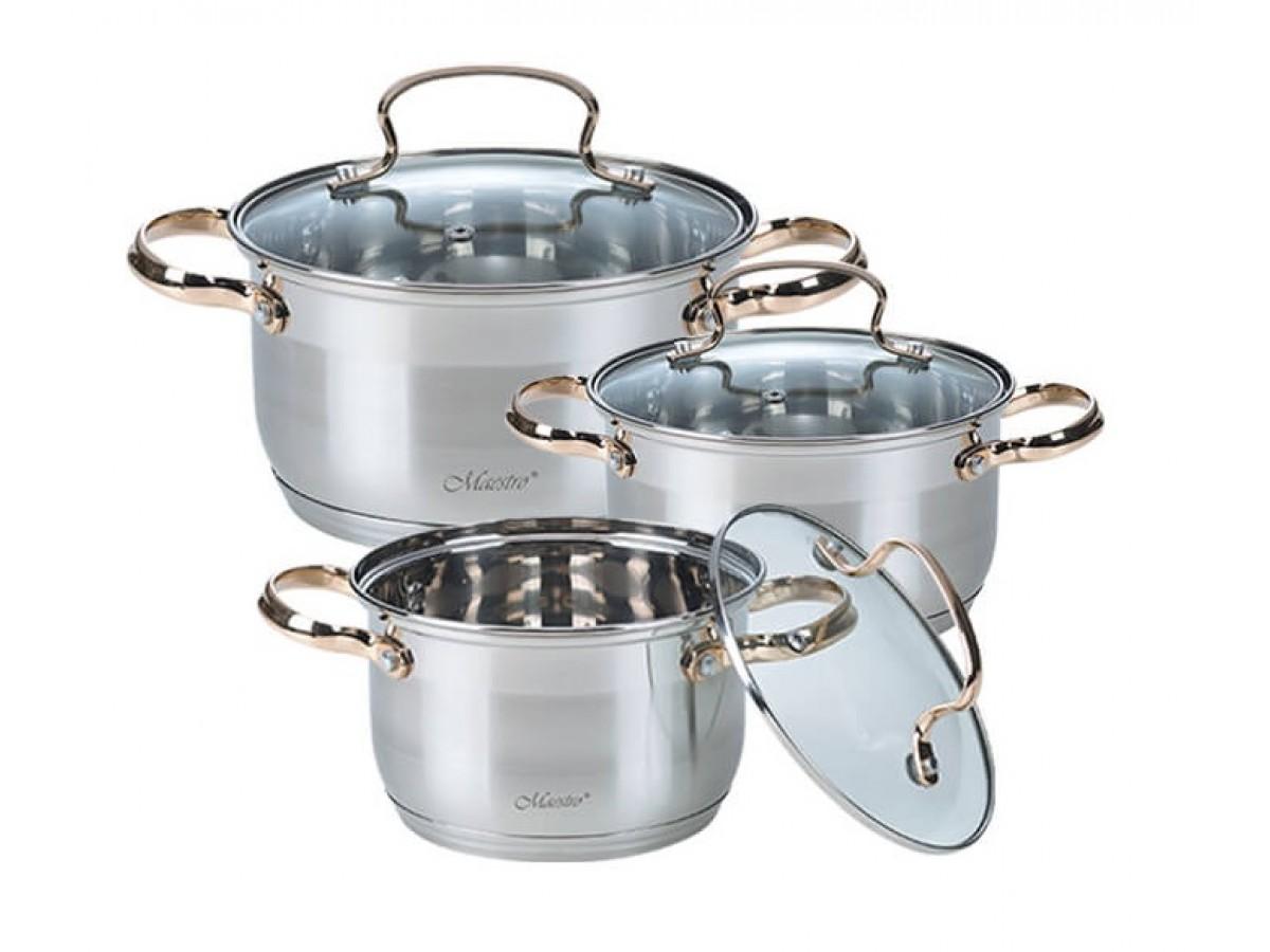 Maestro Набор посуды 6 предметов