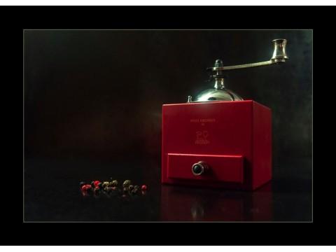 Peugeot Olivier Roellinger Chili Red Мельница для перца 13 см