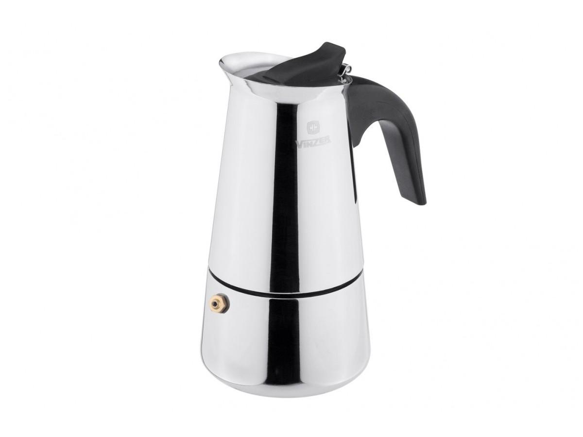 Vinzer Гейзерная кофеварка, на 9 кружек