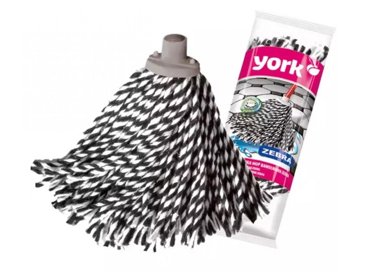 York Mop Zebra хлопковый